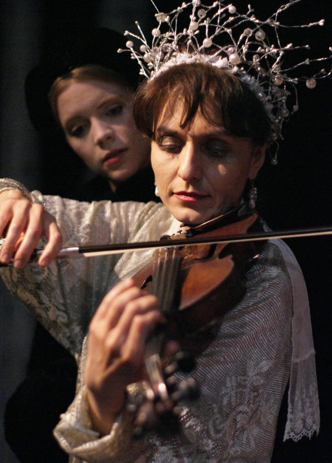 Sara Dabney Tisdale & Christine Kharazian in A Little Trick
