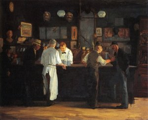 """McSorley's Bar"" by John French Sloan, 1912"